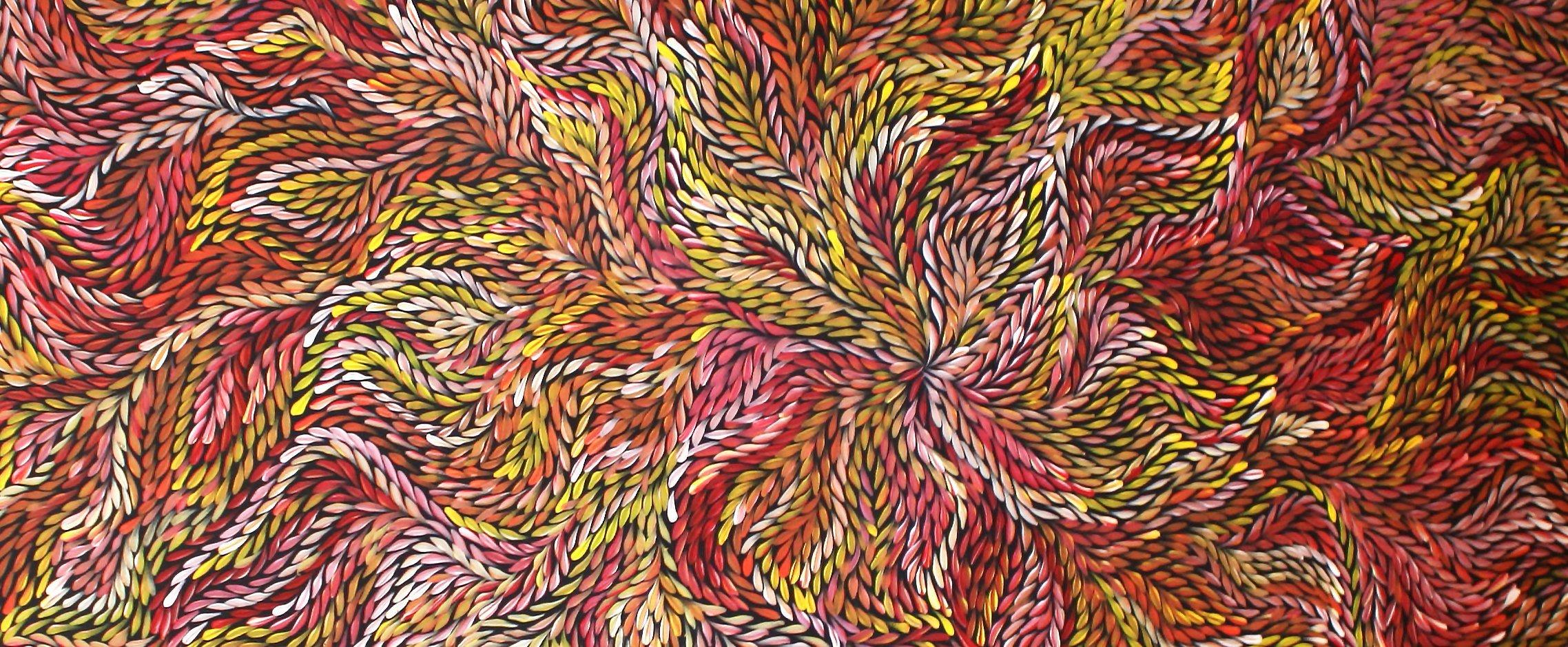 Beautiful art work by Jeannie Petyarre