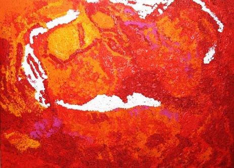 Inspirational artwork showing western desert