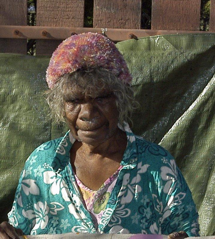 Judy Watson Napangardi Aboriginal Art for sale