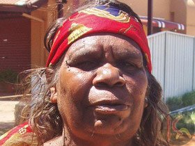 Lily Kelly Napangardi  Aboriginal Art for sale