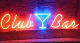 insegne luminose bar
