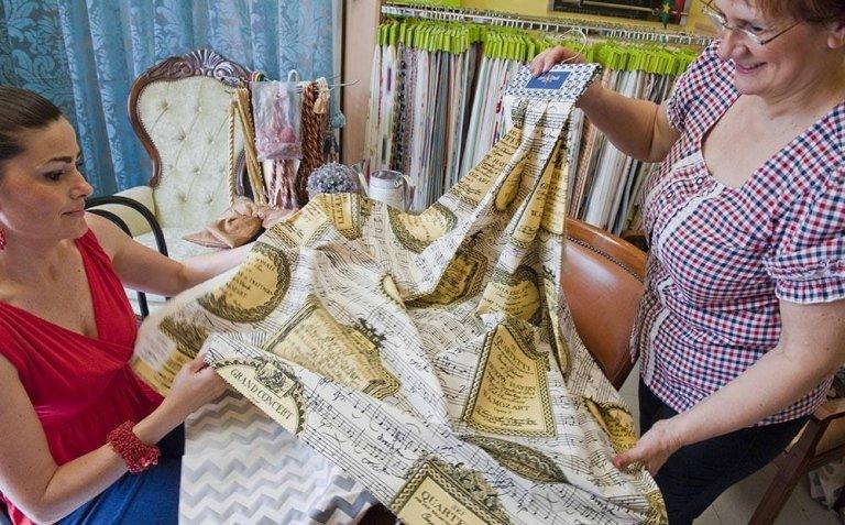 Tessuti per tende - La Tappezzeria di Venanzini - Perugia