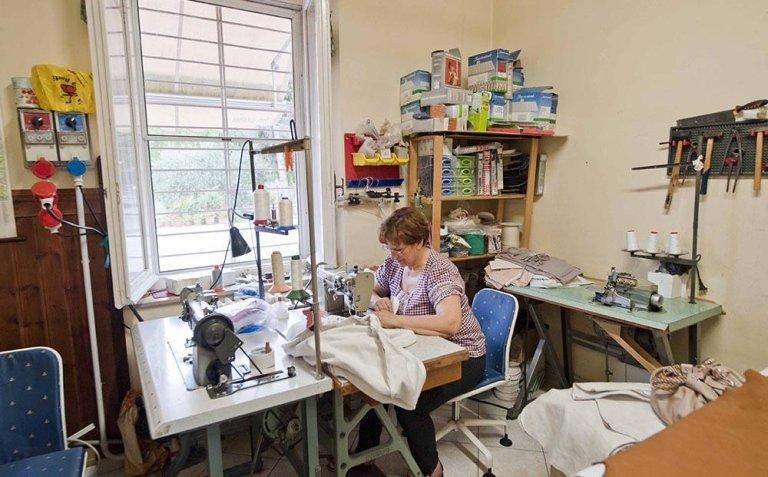 Laboratorio artigianale tappezzeria - Perugia