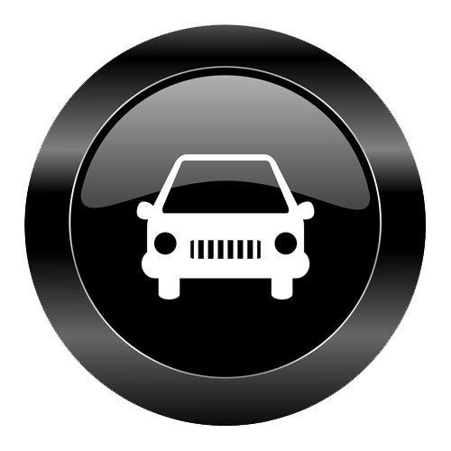 black car button