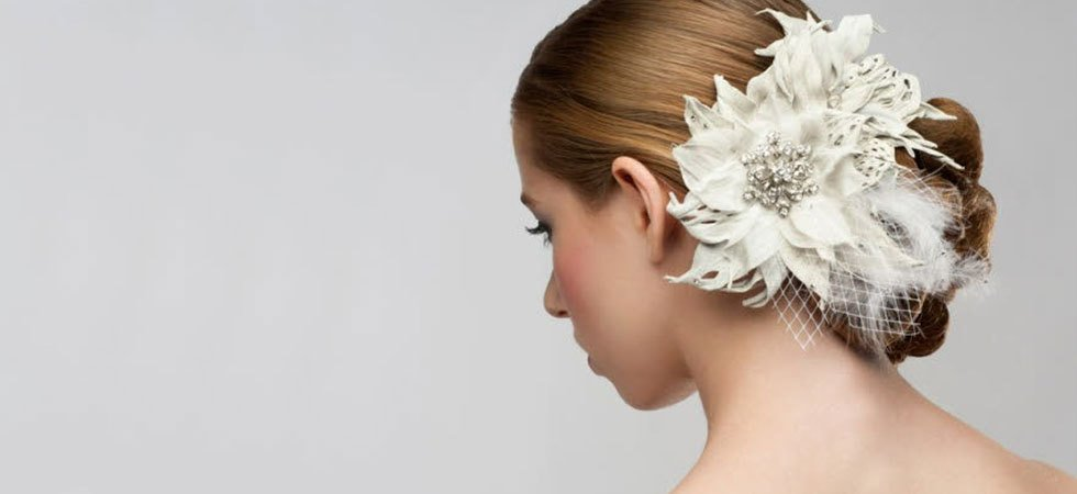 Wedding hairstyling