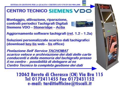Centro tecnico Siemens VDO