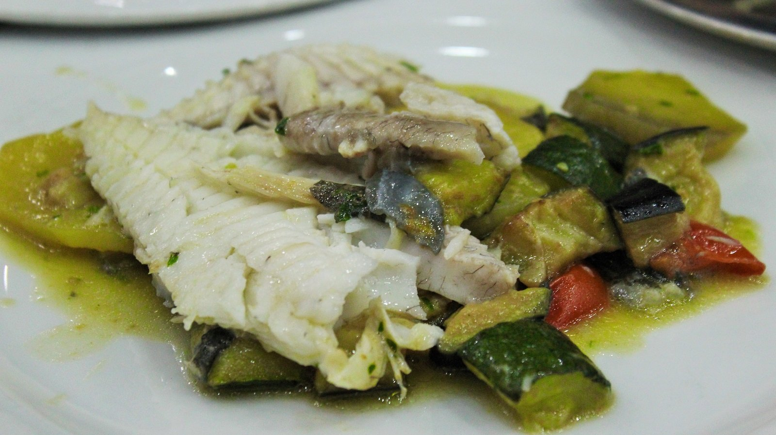 Piatto a base di pesce presso Riccio Pizza e Restaurant a Santa Maria a Vico (CE)