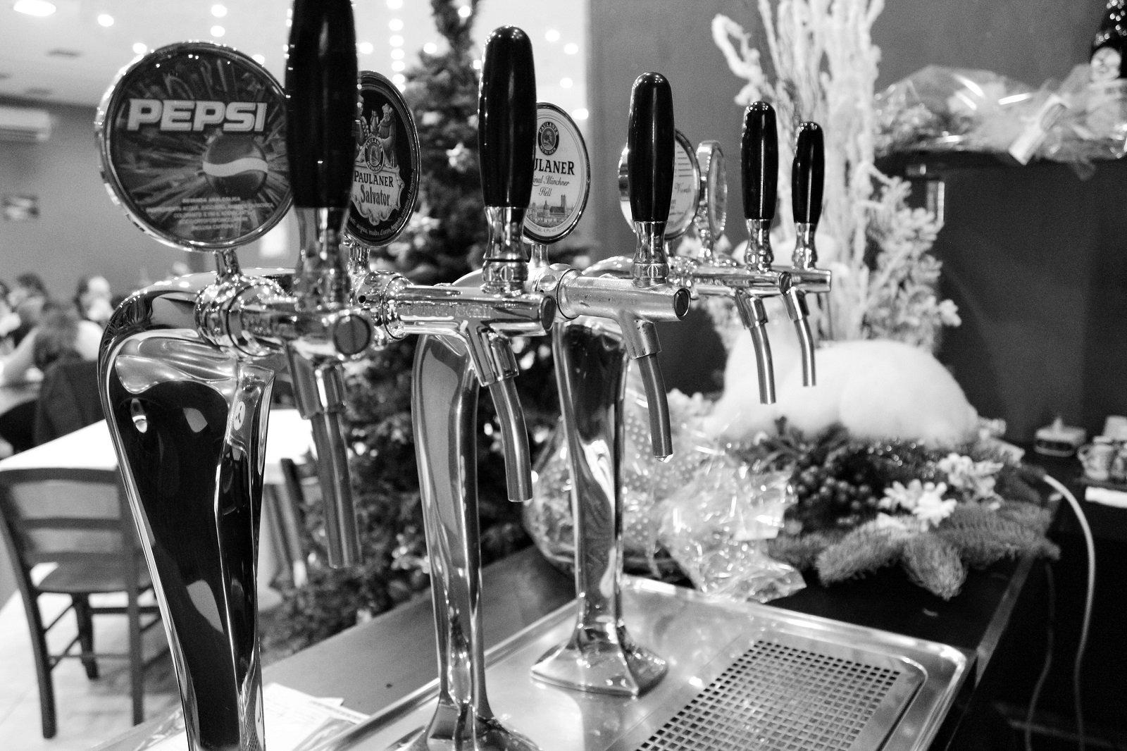 Birra alla spina al Riccio Pizza e Restaurant a Santa Maria a Vico (CE)