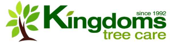 kingdoms tree care business logo