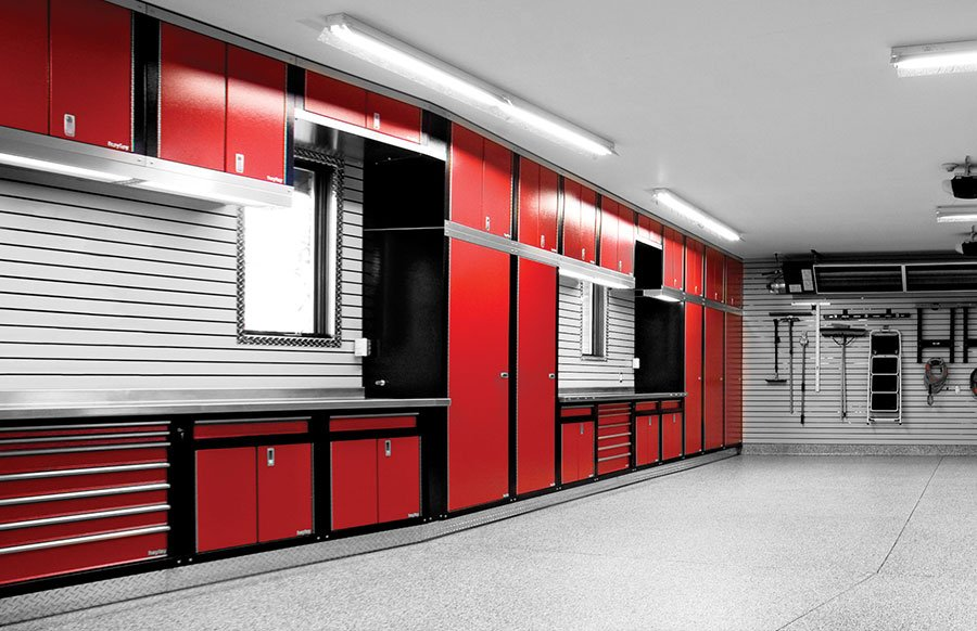 Steel Garage Storage Cabinets Metal Garage Cabinets