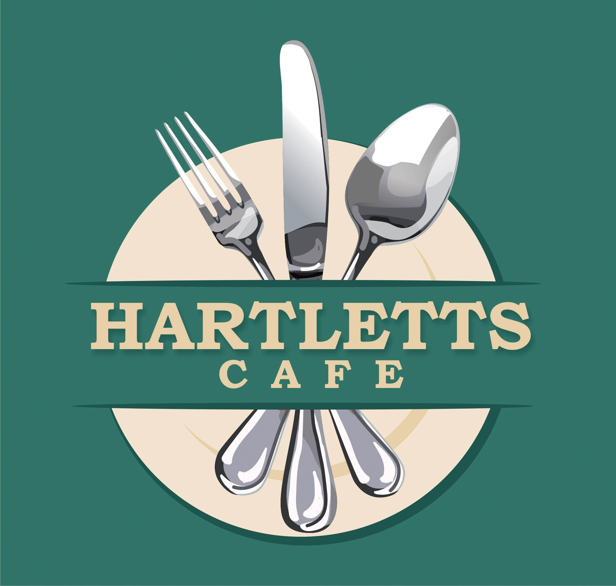 Hartlett's Cafe Logo