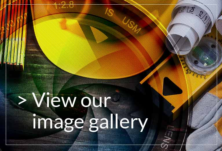 image gallery button