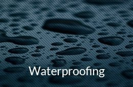 waterproofing button