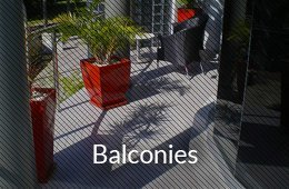 balconies button