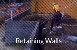 retaining walls button