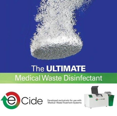 e-cide disinfectant for Envirotek