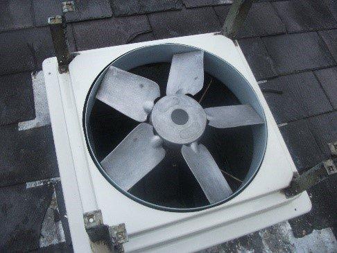 fully cleaned fan