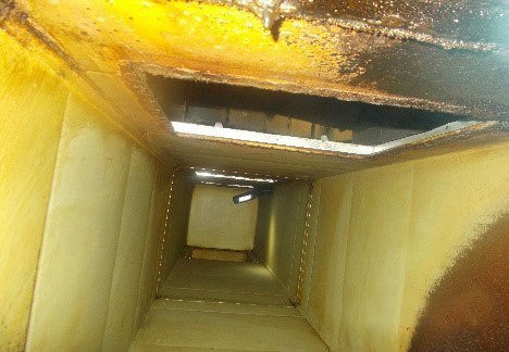 ventilation before duct cleaning