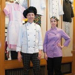 Abbigliamento chef e aiuto chef