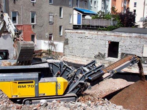 impianti di recupero materiali edili