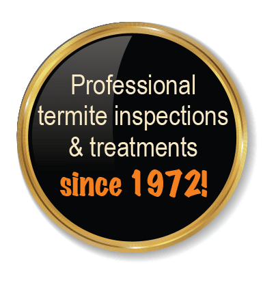 profesional termite inspections and treatments since 1972
