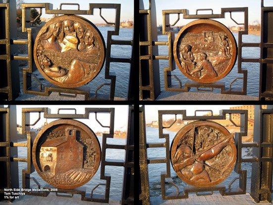 Bridge Medallions #35 - Tom Tsuchiya