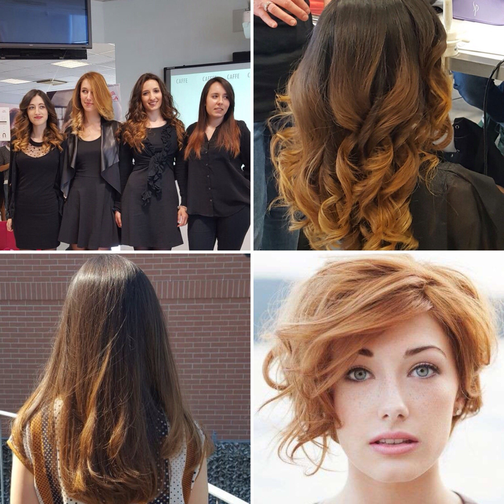 collage di foto di donne