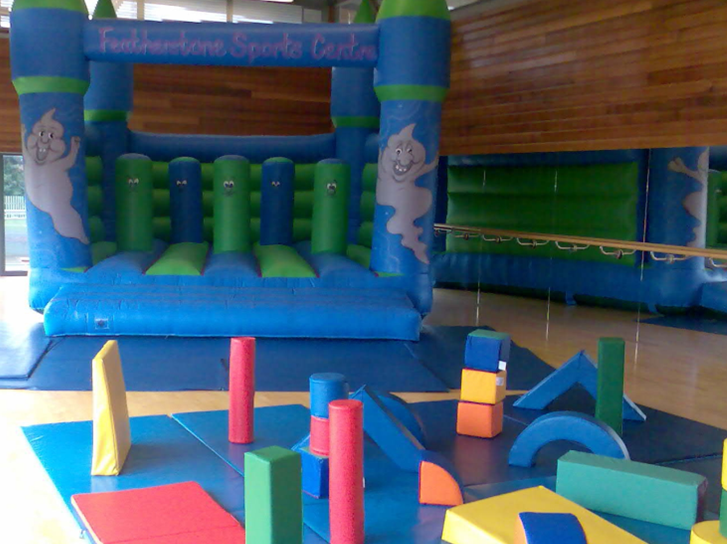 bouncy castle party