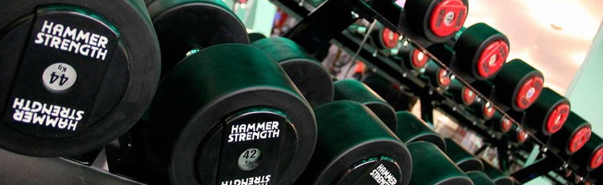 Rows of weights