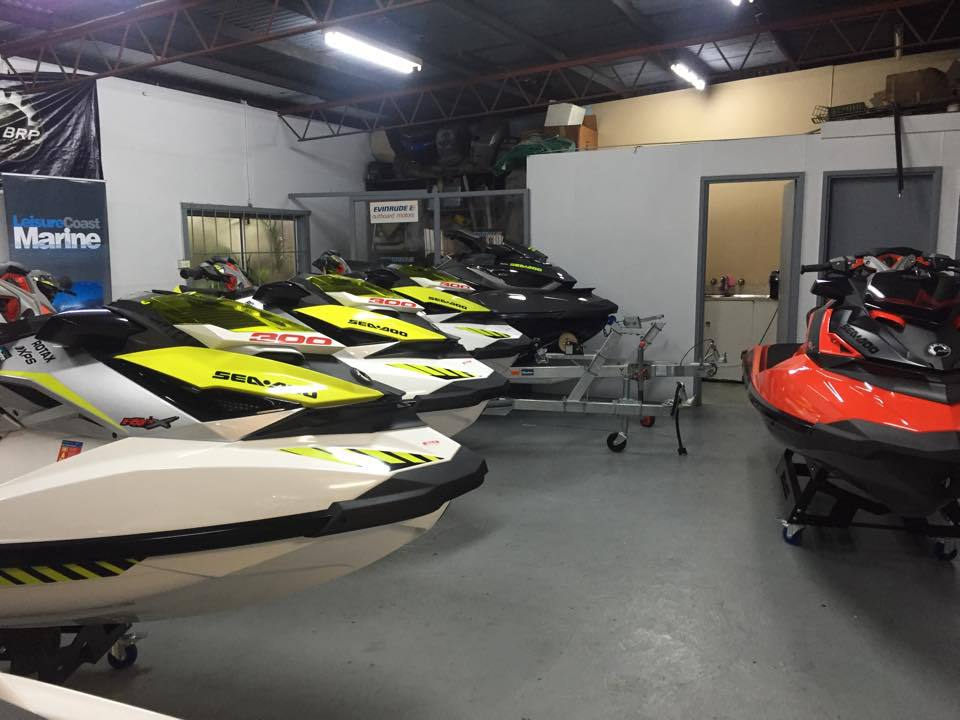 Wide range of watercraft
