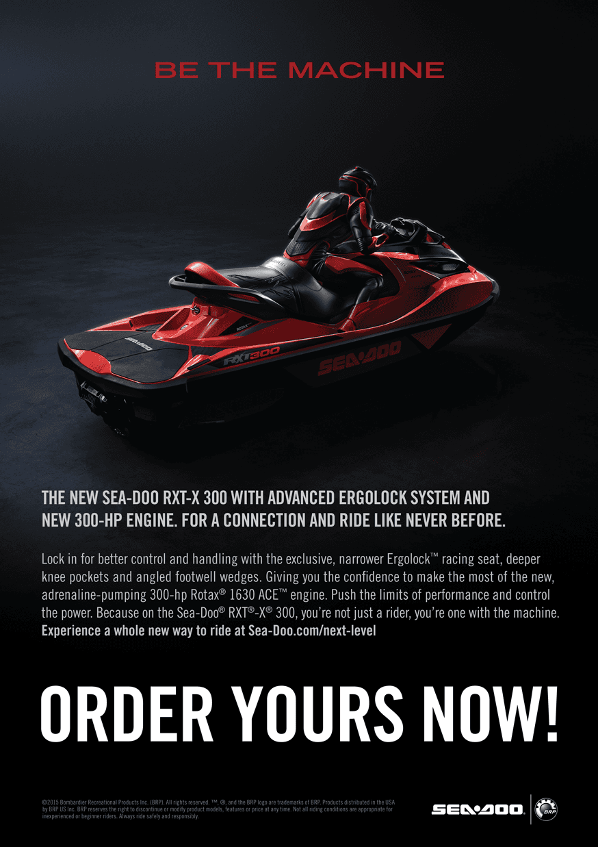 SEA-DOO RXT - X 300