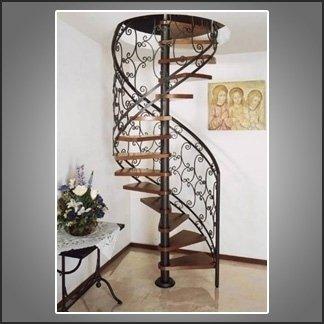 Scale chiocciola agrigento sima scale in ferro battuto for Arredi in ferro battuto per interni