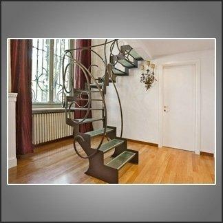 scale con lavorazioni artistiche