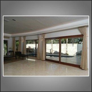 vetrate in legno e alluminio