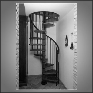 scale chiocciola spazi limitati