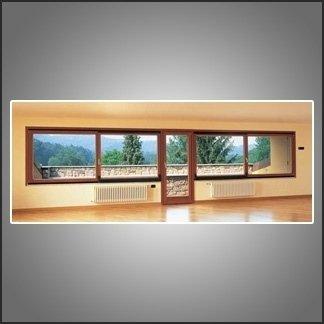 vetrate e porte legno alluminio