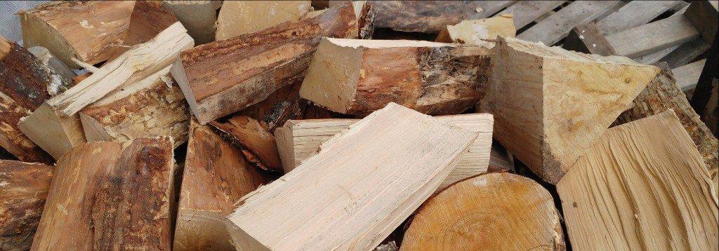 bigger chunks of wood