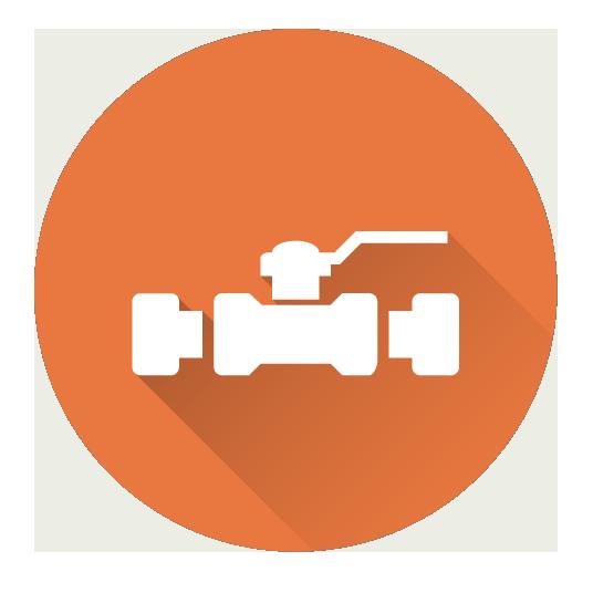 orange pipe icon