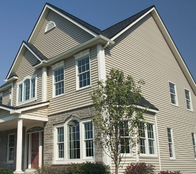 An example of exterior vinyl siding in Cincinnati, OH