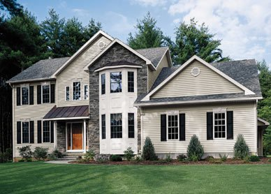 Various exterior siding options for homes in Cincinnati, OH