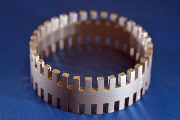 taglio laser tubolari_Particolare tagliato laser