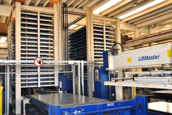 taglio laser piano_ Magazzino automatico lamiere e pezzi tagliati Laser 4000 Watt