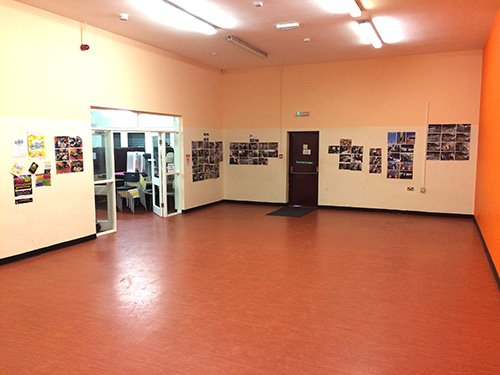 Interior view of the youth services centre in Hadston Morpeth