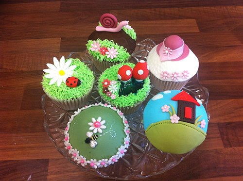 Example of cupcakes