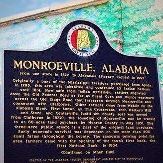 Monroeville Historic Marker