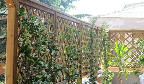 Grigiliati in legno - pergole - tettoie
