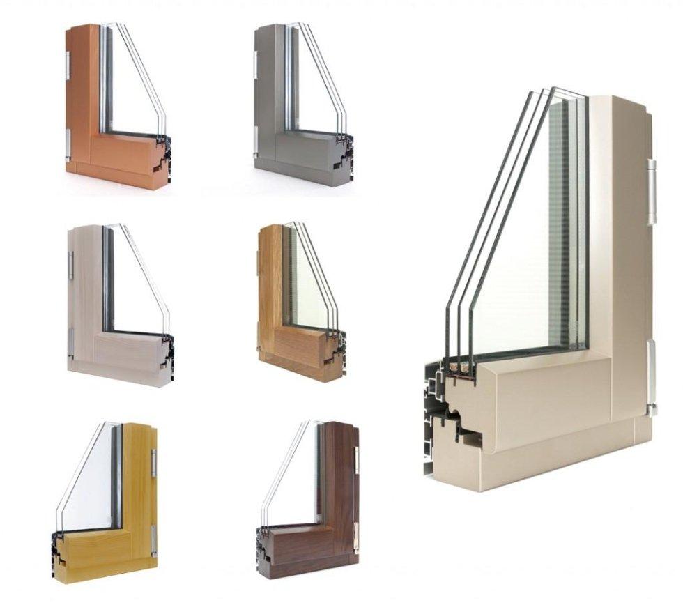 Infissi in legno - alluminio