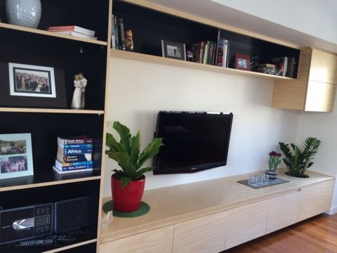custom entertainment center cabinets