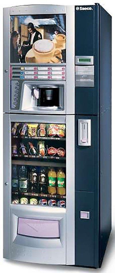Distributori automatici bevande fredde e snack