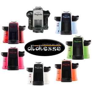 macchine da caffe di diesse di diversi colori circolari